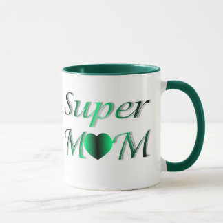 PERSONALIZE SUPER MOM MOTHER'S DAY MUG