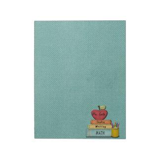 Teacher Notepads Large Teacher Note Pads Zazzle