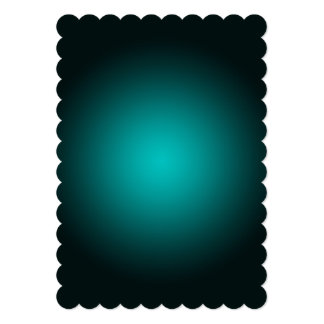 Personalize - Teal ombre gradient background Card