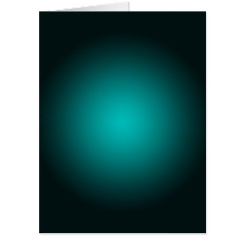 Personalize _ Teal ombre gradient background Card