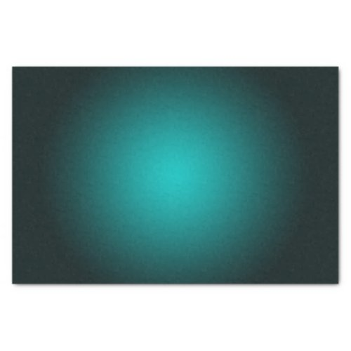 Personalize _ Teal ombre gradient background Tissue Paper