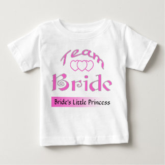 PERSONALIZE TEAM BRIDE BABY T-Shirt