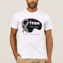 Personalize Team Name - Brain Cancer T-Shirt