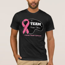 Personalize Team Name - Breast Cancer T-Shirt