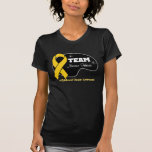 Personalize Team Name - Childhood Cancer Tee Shirt