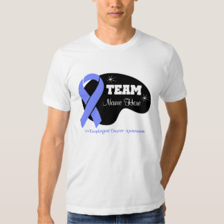 Personalize Team Name - Esophageal Cancer Tee Shirt
