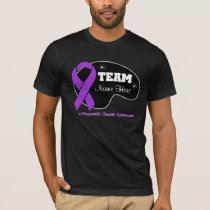 Personalize Team Name - Pancreatic Cancer T-Shirt