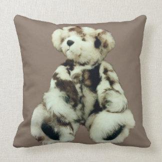 "Personalize Teddy Bear Throw Pillow 20"" x 20"""