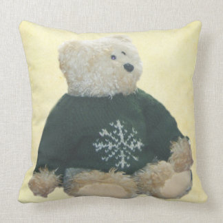 """Personalize Teddy Bear v1 Throw Pillow 20"""" x 20"""""""
