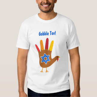 Personalize Thanksgivukkah 2013 Tee Shirt