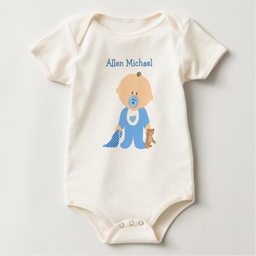 baby_cuteness Personalize this Baby Boy Organic Tee