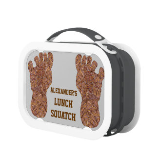 Personalize This Bigfoot Sasquatch Yeti Lunch Bag Lunch Box