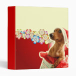 PERSONALIZE THIS CUTE DOG BINDER