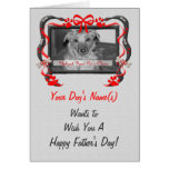 Personalize this Father's Day Card from the Dog!