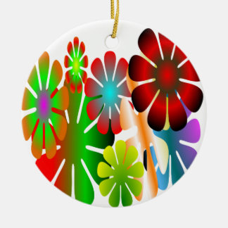 Personalize This Flower Power Ornament