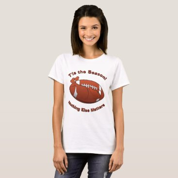 Beach Themed Personalize THIS Funny Turkey and Football Season T-Shirt