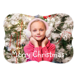 Personalize this Gorgeous Christmas Card