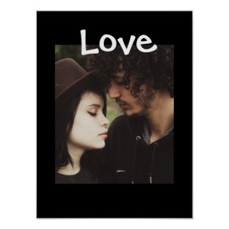 "Personalize this ""Love"" Poster with Your Picture"