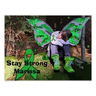 Personalize this Lyme Disease Warrior poster