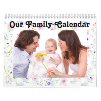 "Personalize this ""Our Family"" Calendar"