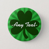 Personalize This St Patrick's Day Pinback Button