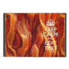 Personalize This with Keep Calm and Bacon Decor Cover For iPad Mini
