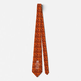 Personalize This with Keep Calm and Sizzling Bacon Neck Tie
