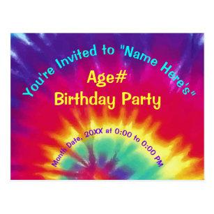 Dye Birthday Cards Greeting Photo Cards Zazzle