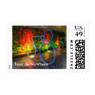 Personalize, Tour de NoWhere First Class Stamps! Postage