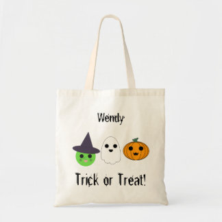 Personalize Trick or Treat Bag