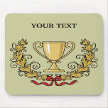 Personalize Trophy Cup Mouse Pad