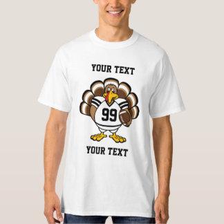 Personalize Turkey Bowl T-Shirt