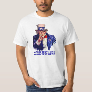 Personalize Uncle Sam Shirt