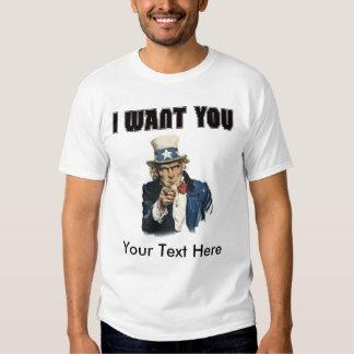 Personalize - Uncle Sam T Shirt