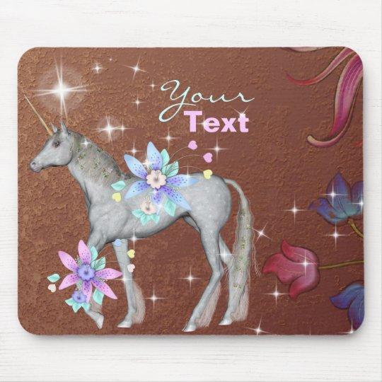 Personalize Unicorn  Mousepad