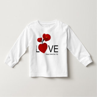 PERSONALIZE VALENTINE'S DAY / WEDDING TODDLER T-SHIRT