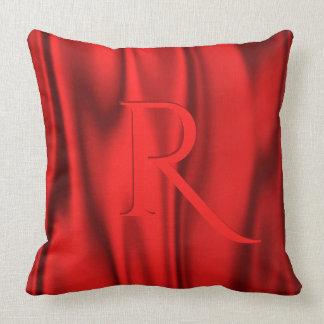 Red Satin Decorative Pillows : Red Satin Pillows - Decorative & Throw Pillows Zazzle