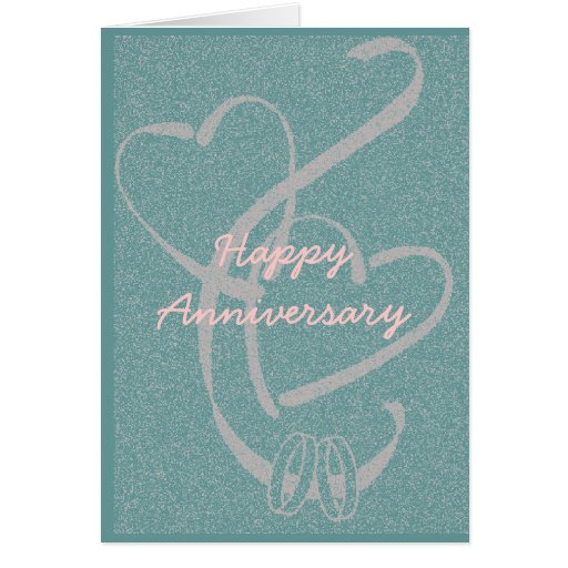 Personalize Wedding Anniversary Card