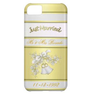 Personalize Wedding Keepsake 4 Case iPhone 5C Cases