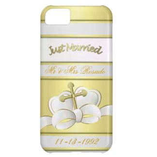 Personalize Wedding Keepsake 5 Case iPhone 5C Case