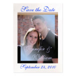 PERSONALIZE WEDDING PHOTO BUSINESS CARD TEMPLATE