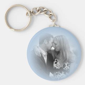 PERSONALIZE WEDDING PHOTO KEYCHAIN