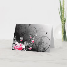 Personalized Wedding or Valentine's Day Card