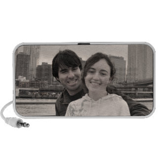 Personalize with your own photo notebook speaker