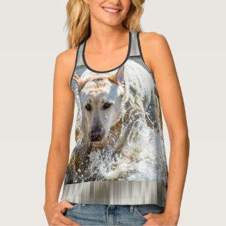 Personalize:  Yellow Labrador Pet Photography Tank Top