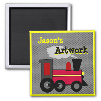 Personalize your Childs Artwork Magnet