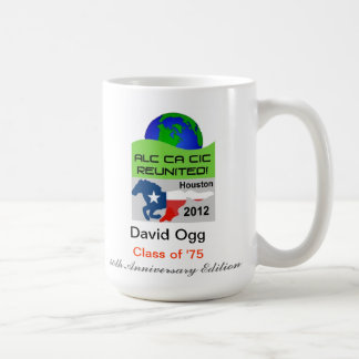 Personalize your Houston 2012 40th Anniversary Mug