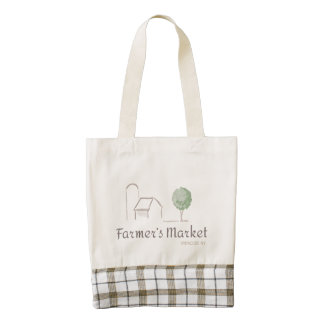 Personalize your Local Farmer's Market tote bag!