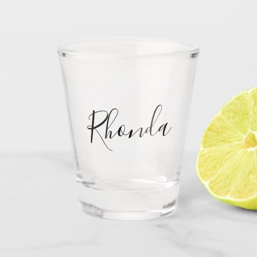 Personalize Your Name Shot Glass