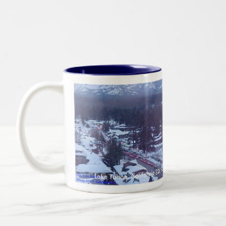 Personalize YOUR own Christmas Coffee Cup!! Two-Tone Coffee Mug